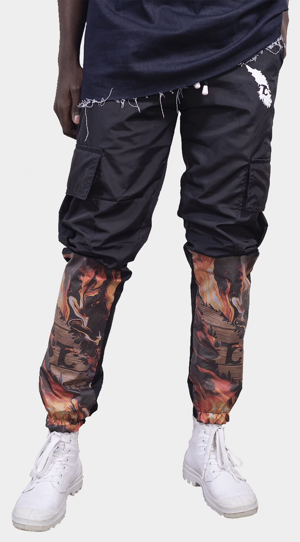 FROSTED CARGO PANTS